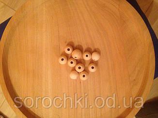 Бусины, заготовка, диаметр 16 мм и 14 мм, размер отверстия 2 мм некрашеные