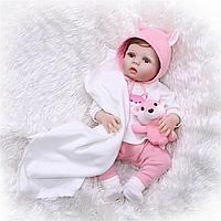 Кукла реборн Арина 53 см полностью виниловая Reborn doll