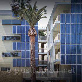 Солнечные батареи для применения в квартирах многоэтажных домов