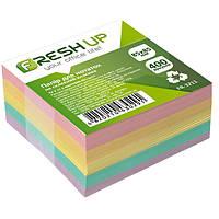 Блок бумаги для записей не клеенный Классика, 85*85 мм, 400 листов, Fresh Up, FR-3211, 100410