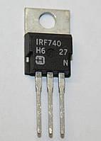 Транзистор IRF740 (TO-220)