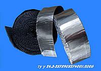 Герметизирующая бутилкаучуковая лента, 45 мм, дублированная фольгой, фото 1