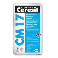 Клей для плитки и камня Ceresit CM 17, 25 кг