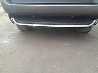 Накладка на задний бампер (под покраску) BMW X-5 (E53)