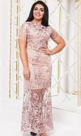 Платье нарядное большого размера 50-52 54-56 851817-1