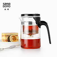 Чайник заварочный с кнопкой Sama Doyo E-01, 500 мл, фото 1