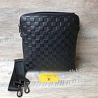 Стильная мужская  сумка барсетка Louis Vuitton, фото 1