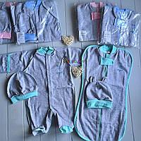 """Набор для новорожденного 4 предмета """"Мой ангел"""" 56 р, фото 1"""