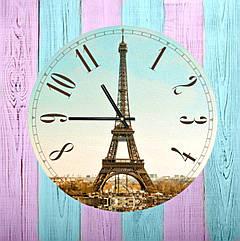 Часы настенные Эйфелева башня 36 см