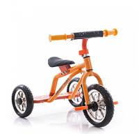 Трехколесный велосипед Profi Trike M 0688-2O Оранжево-желтый