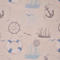 Ткань для штор Jules Verne