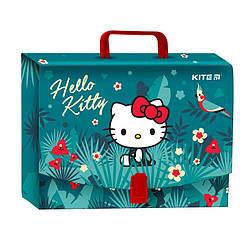 Портфель-коробка для школьных принадлежностей Kite Hello Kitty (hk19-209)