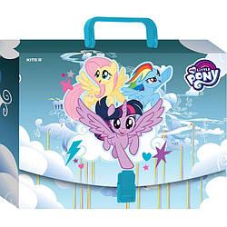 Портфель-коробка для школьных принадлежностей Kite Kite My Little Pony A4 (lp19-209)