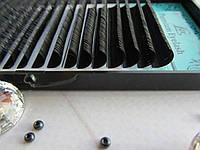 Ресницы черные Lex C 0.10 МИКС