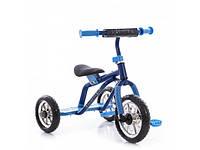 Трехколесный велосипед Profi Trike M 0688-2B Серо-голубой