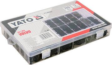 Набор автомобильного крепежа для Volvo YATO YT-06655, фото 2