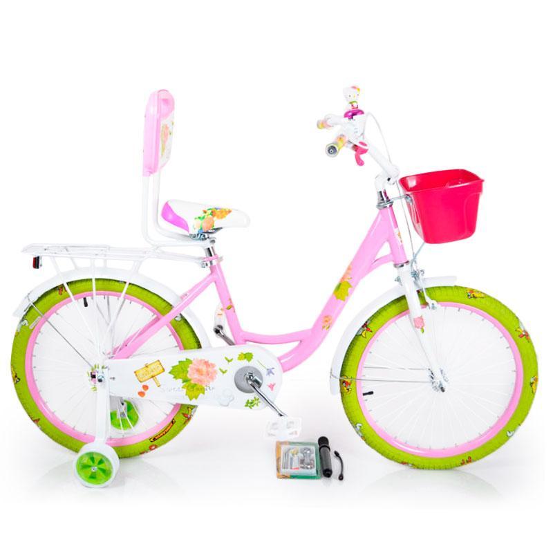 Детский Велосипед 20-ROSES Pink