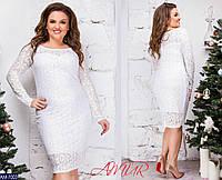 Стильное платье   (размеры 46-52)  0145-72, фото 1