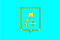 Флаг Сумской области 0,9х1,35 м. шелк
