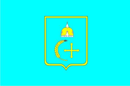 Флаг Сумской области 0,9х1,35 м. атлас