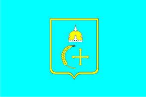 Флаг Сумской области  0,9х1,35 м. для улицы флажная сетка