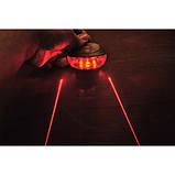 2 в 1 лазерна доріжка і вело ліхтарик, фото 5