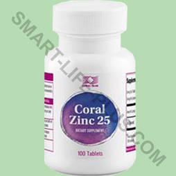 Корал Цинк 25 (Coral Zinc 25) -продукт, содержащий цинк высокого качества