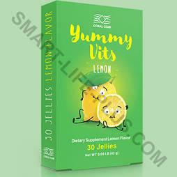 Детские витамины Yummy Vits (Ямми Витс) - жевательные витамины со вкусом лимона, повышающие иммунитет.