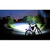 Велосипедный вело фонарик BL-8628 фонарь 30000w, фото 7