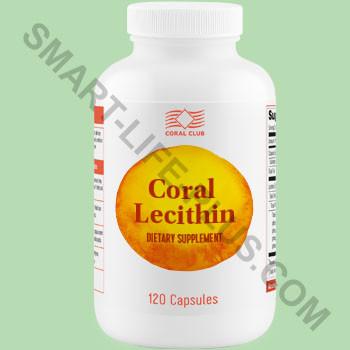 Корал Лецитин (Coral Lecithin) - гепатопротектор, улучшает отток желчи, укрепляет память.