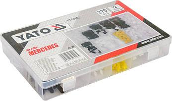 Набор автомобильного крепежа для Mersedes YATO YT-06662, фото 2
