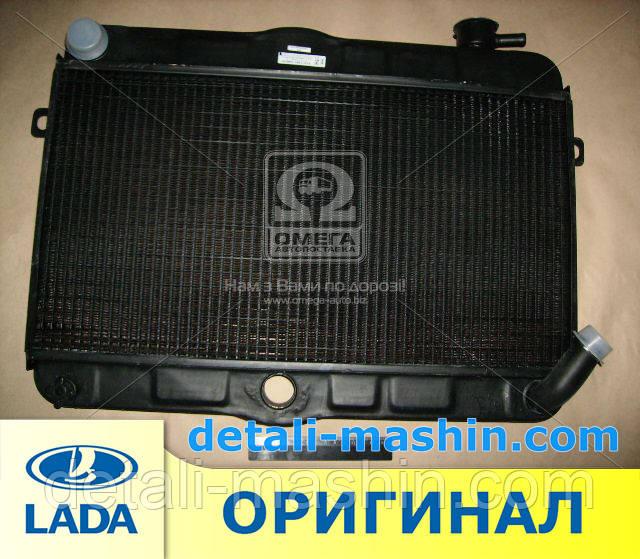 Радиатор водяного охлаждения МЕДНЫЙ  ВАЗ 2121 НИВА (2-х рядн.) Оренбург