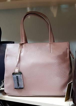 a78bd75d86a6 Кожаная женская сумка пудрового цвета - Цена 1 092 грн. Купить оптом ...