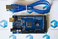 Материнская плата Arduino Mega 2560 R3 с кабелем