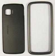 Корпус для Nokia 5230, Nokia 5228, Xpress Music, Передняя и Задняя Крышка, Сервисный Оригинал, Графит/панель/крышка/накладка /нокиа