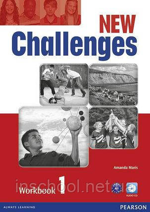 Challenges NEW 1 Workbook + CD-Rom ISBN: 9781408284421, фото 2