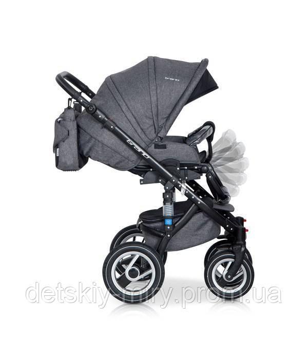 Детская универсальная коляска 2 в 1 Riko Brano - фото 8