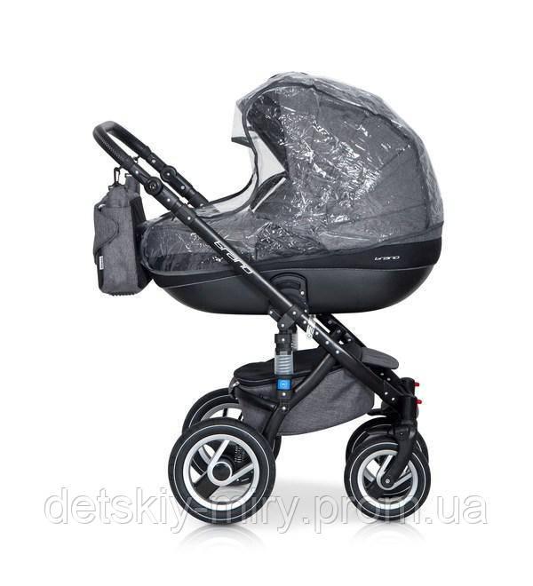 Детская универсальная коляска 2 в 1 Riko Brano - фото 4