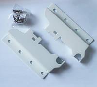 Тандембокс (Linken box): крепление задней стенки для 1 релинга белое
