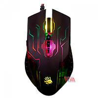 Мышь игровая A4 Tech Bloody Q50 Neon X'Glide Battlefield
