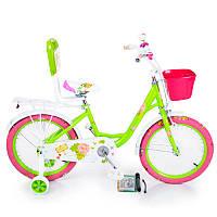 Детский Велосипед 20-ROSES Green