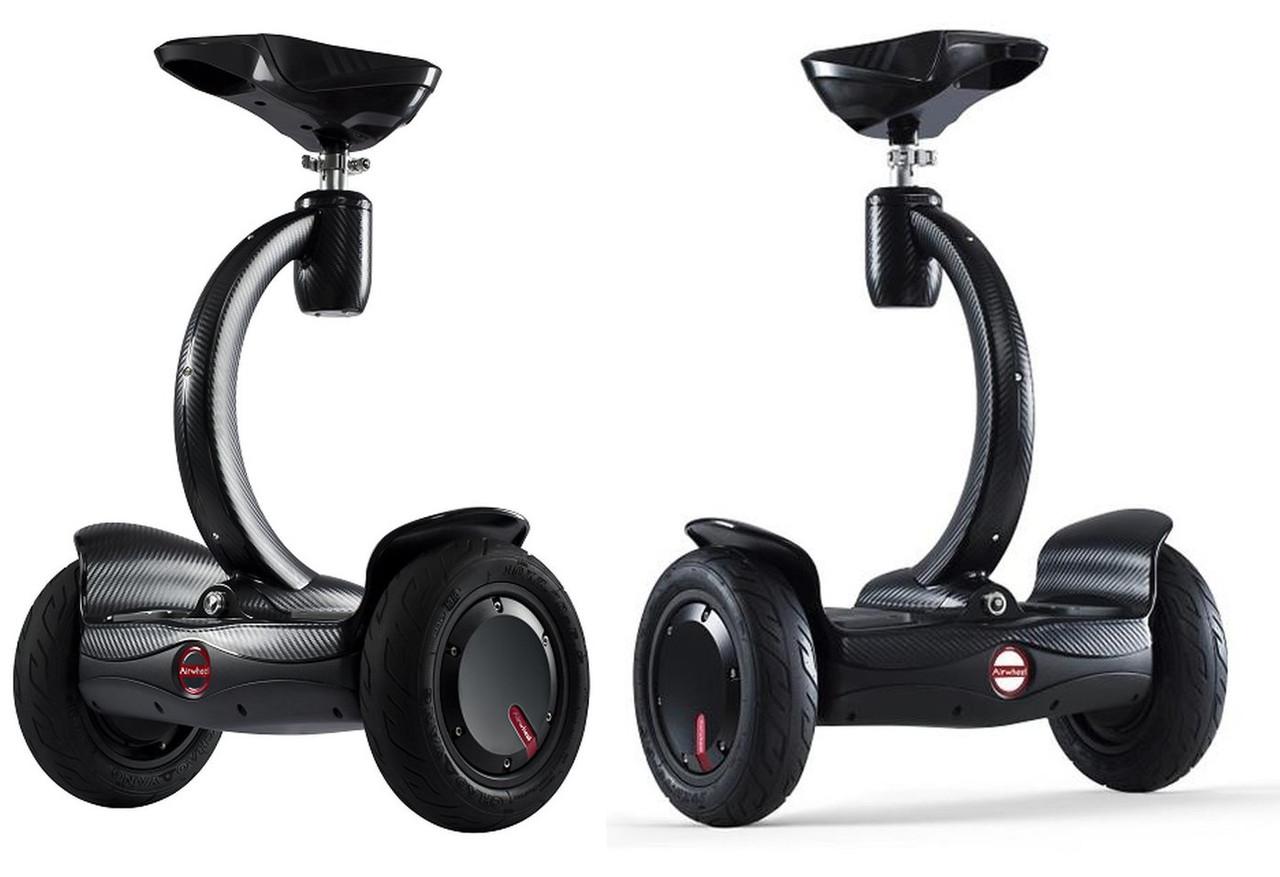 Сигвей Гироборд AIRWHEEL S8+ 260WH (черный)