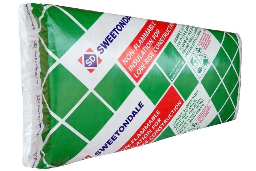 Минеральная вата Роклайт 600х1200х50мм (5.76м.кв\уп) Sweetondale