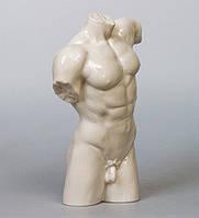 """Фарфоровая статуэтка """"Торс мужчины"""" (Глазурь) WS-102/ 2"""