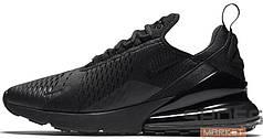 "Мужские кроссовки Nike Air Max 270 ""Triple Black"" AH8050-005, Найк Аир Макс 270"