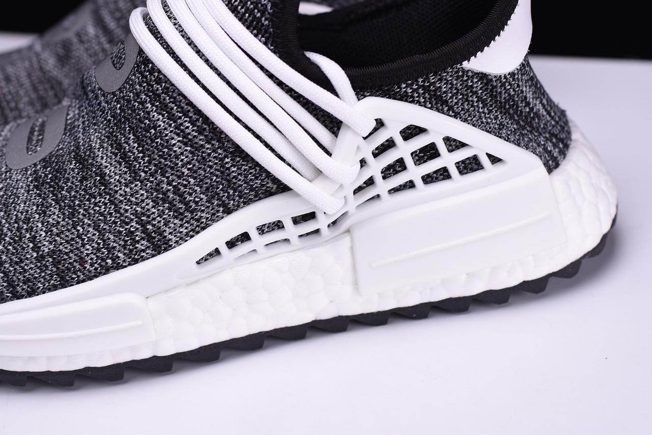 quite nice d2654 e0eac Женские кроссовки Adidas Human Race NMD Pharrell Oreo AC7359 - Bigl.ua
