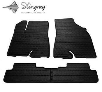 Автомобильные коврики Toyota Highlander 2014-2016 Комплект (Stingray)
