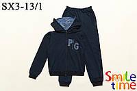 Костюм спортивный для мальчика подростка р.128,134,140,146,152,158 SmileTime Pegas, темно-синий (ПОДРОСТОК)