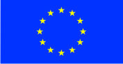 Флаг Евросоюза 0,9х1,35 м. материал для уличного применения флажная сетка