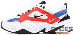 Женские кроссовки Nike M2K Tekno White/Orange/Blue